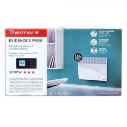 Thermor EVIDENCE3 ErP elektromos fűtőpanelek (Francia Márka 1931 óta!), programozható