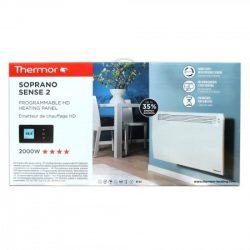SOPRANO SENSE2 ErP elektromos fűtőtestek (Francia Márka 1931 óta!), programozható HD panel